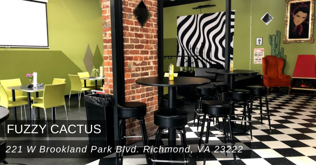 Fuzzy Cactus is located at 221 W Brookland Park Blvd.